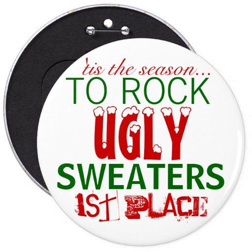 'tis la estación para oscilar los suéteres feos pin
