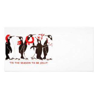 Tis la estación tarjetas personales