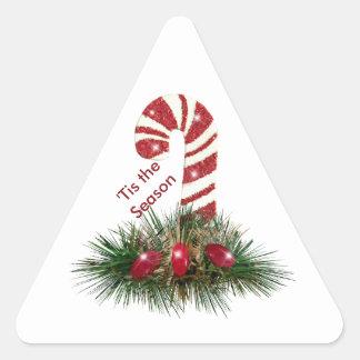 'Tis los pegatinas del triángulo del bastón de Pegatina Triangular