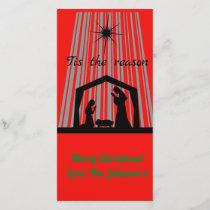 Tis the reason holiday card