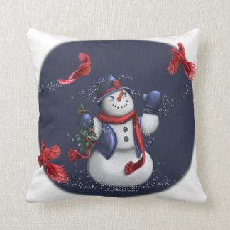 Tis the Season and Tidings of Joy Throw Pillow