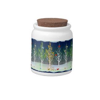 'Tis the Season candy jar