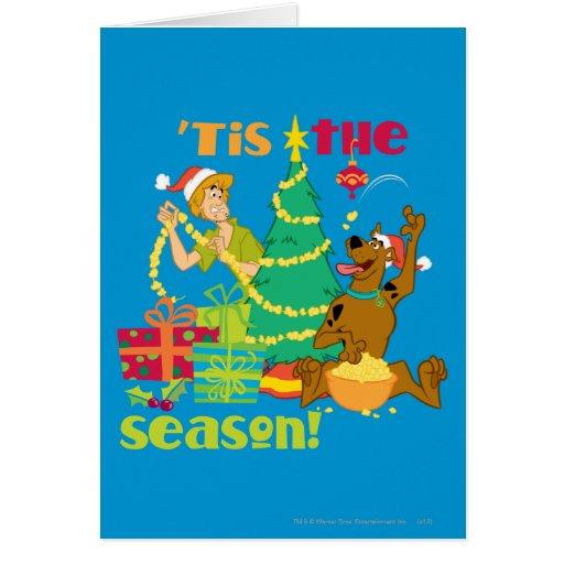 Tis' The Season Greeting Card