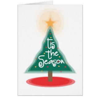 Tis the Season Card