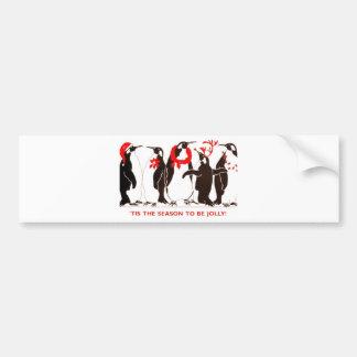 Tis the Season CHRISTMAS HOLIDAY Bumper Stickers