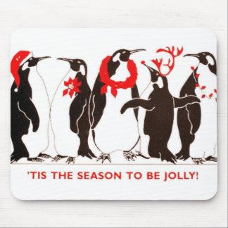 Tis the Season CHRISTMAS HOLIDAY Mouse Pad