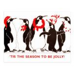Tis the Season CHRISTMAS HOLIDAY Postcard