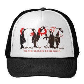 Tis the Season CHRISTMAS HOLIDAY Trucker Hat