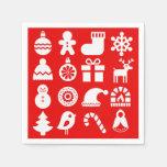 '''Tis the Season Christmas Napkin/Serviettes Napkin