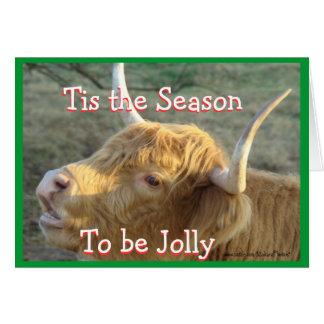 Tis the Season-customize Card