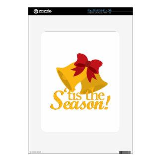 Tis The Season Decal For iPad