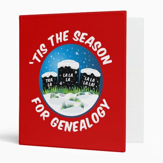 'Tis The Season For Genealogy Binder