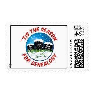 Tis The Season For Genealogy Postage
