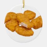 Tis the season for good nuggets ceramic ornament