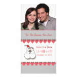 'Tis The Season For Love Save The Date Photo Card
