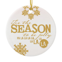 Tis the Season Holiday Personalized Ornament