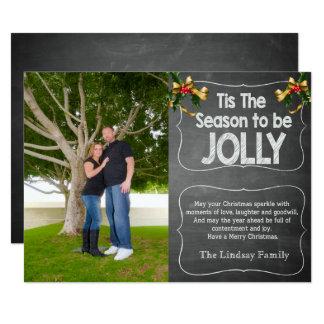 Tis The Season Holiday Photo Card
