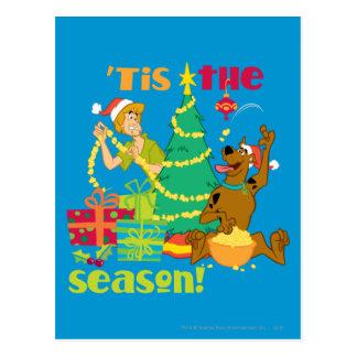 Tis' The Season Post Card