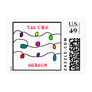 'TIS THE SEASON - postage stamps