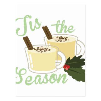 Tis The Season Postcard