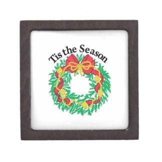 Tis the Season Premium Keepsake Boxes