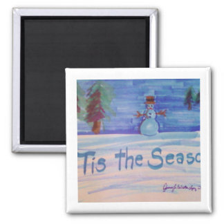Tis the Season Products 2 Inch Square Magnet