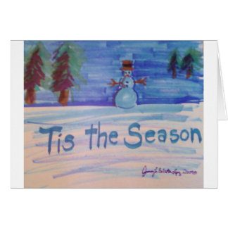 Tis the Season Products Greeting Card