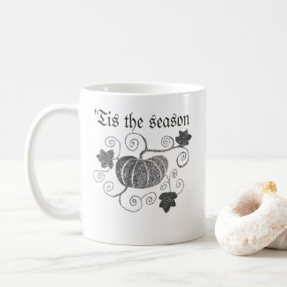 'Tis The Season Pumpkin Coffee Mug