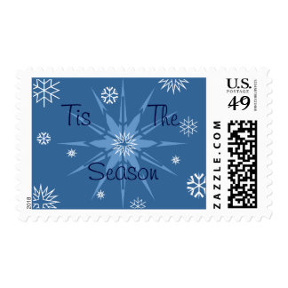 Tis the Season Snowflakes Stamp