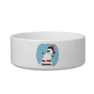 Tis The Season Snowman Bowl