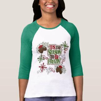 Tis The Season To Be Freezin T-Shirt