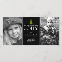 'tis the season to be JOLLY - Photo Card