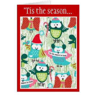 'Tis the Season to Hoot Greeting Cards