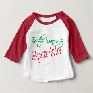 Tis the season to SPARKLE Baby T-Shirt
