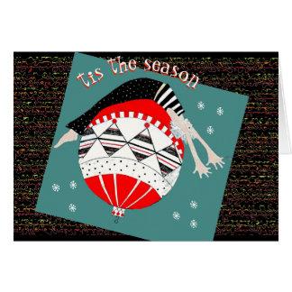 Tis the Season to Stay Balanced Holiday Card