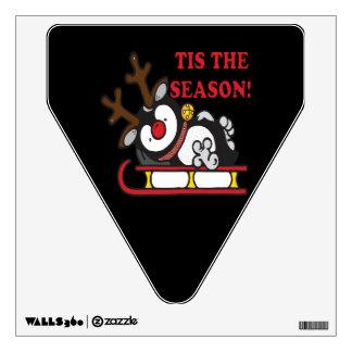 Tis The Season Wall Sticker