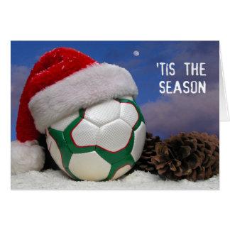 Tis The (Soccer) Season Cards