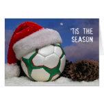 Tis The (Soccer) Season Greeting Card