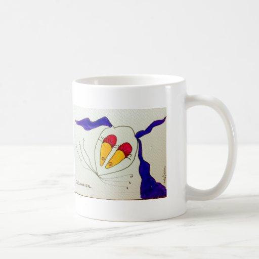 TisArt Classic White Coffee Mug