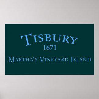 Tisbury incorporó el poster 1671
