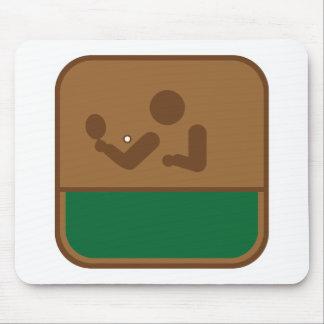 Tischtennis Mouse Pad