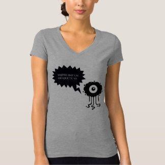 Tisher of woman t-shirt