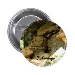 Tishomingo Rock Formation II Pinback Buttons