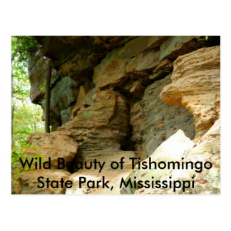 Tishomingo Rock Formation II Postcard