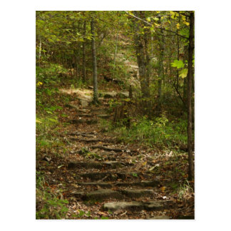Tishomingo Rock Path Postcard