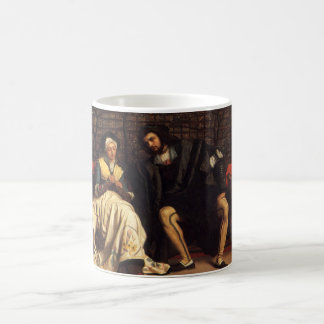 Tissot: Faust & Marguerite in the Garden, Coffee Mug