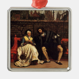 Tissot: Faust & Marguerite in the Garden, Metal Ornament