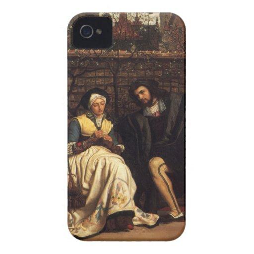 Tissot: Fausto y margarita en el jardín, iPhone 4 Case-Mate Protector