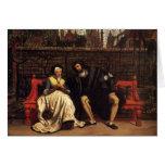 Tissot: Fausto y margarita en el jardín, Tarjetas