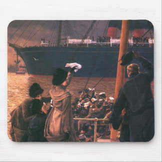Tissot: Goodbye, on the Mersey Mouse Pad